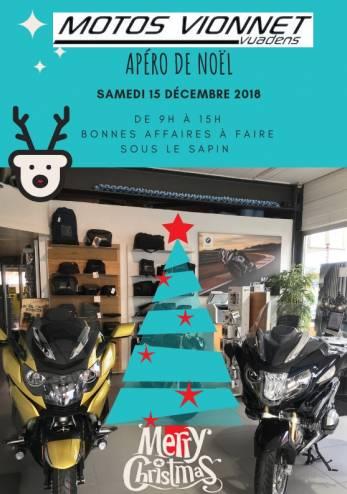 Apéro de Noël - Motos Vionnet :: 15 décembre 2018 :: Agenda :: ActuMoto.ch