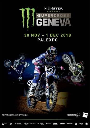 Supercross Genève :: 30 novembre - 01 décembre 2018 :: Agenda :: ActuMoto.ch
