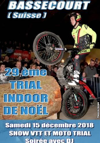 29 ème Trial Indoor de Noël :: 15 décembre 2018 :: Agenda :: ActuMoto.ch
