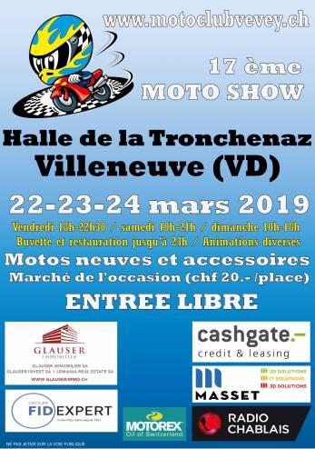 Moto Show à Villeneuve :: 22-24 mars 2019 :: Agenda :: ActuMoto.ch
