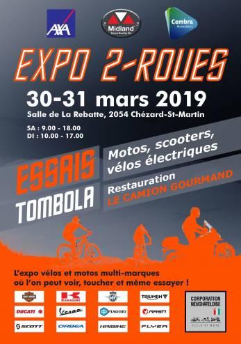 Essais motos et scooters à Chézard-St-Martin :: 30-31 mars 2019 :: Agenda :: ActuMoto.ch