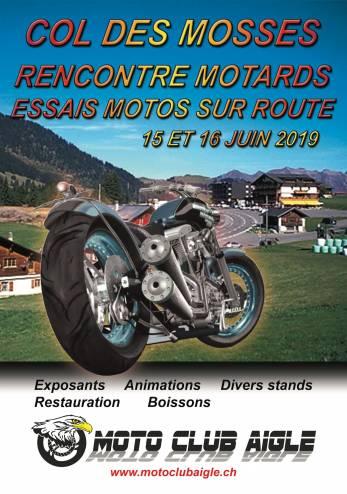 Essais multi-marques aux Mosses :: 15-16 juin 2019 :: Agenda :: ActuMoto.ch