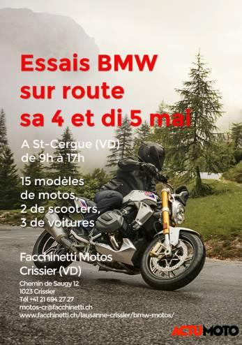 Facchinetti Road Test :: 04-05 mai 2019 :: Agenda :: ActuMoto.ch