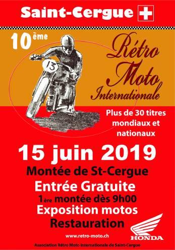 Montée de St-Cergue :: 15 juin 2019 :: Agenda :: ActuMoto.ch