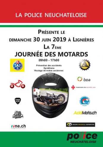 Journée des motards à Lignières :: 30 juin 2019 :: Agenda :: ActuMoto.ch
